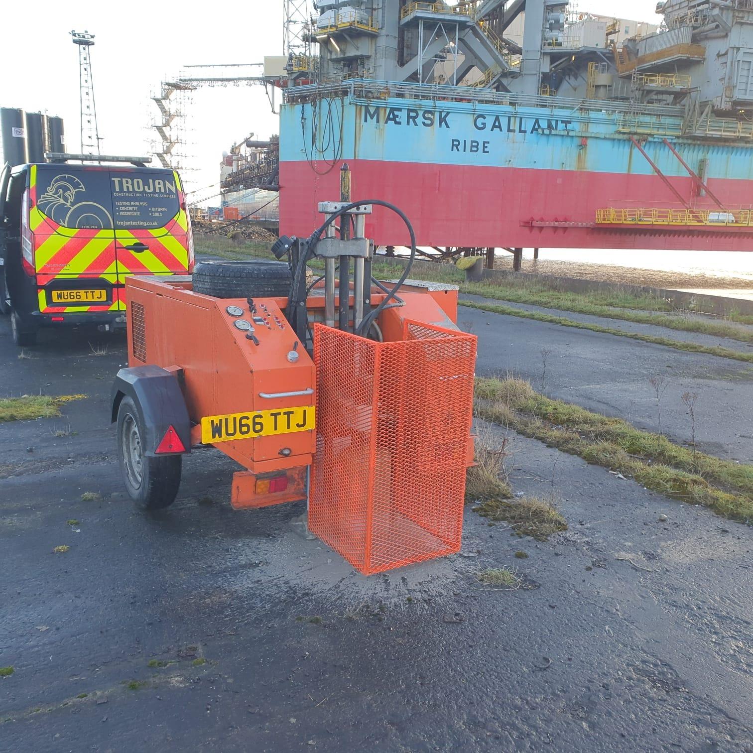 road coring 1